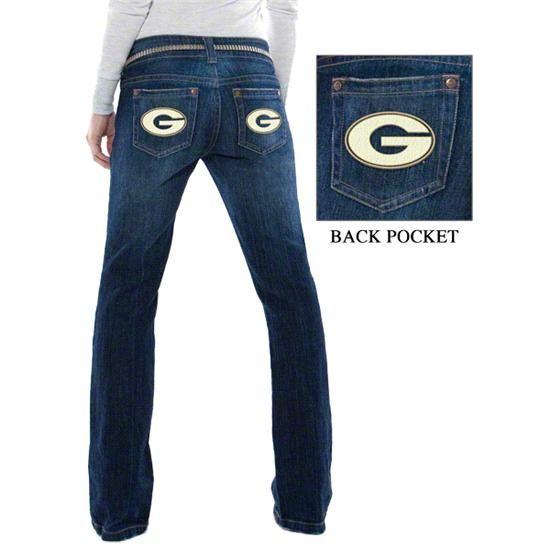 University of Georgia Bulldogs Denim Jeans