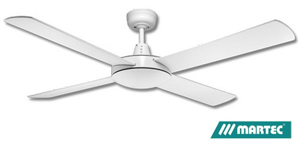 Martec lifestyle ceiling fan white 52 1300mm dls134w ceiling fans martec lifestyle ceiling fan white 52 1300mm dls134w aloadofball Images