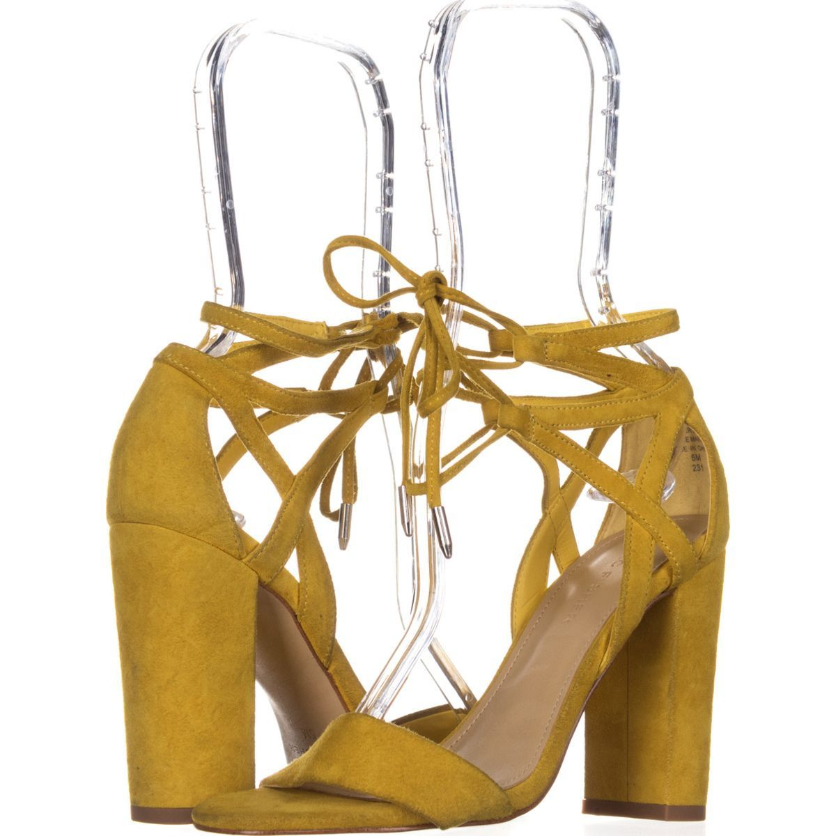 69f0f87d8ed6 Marc Fisher Fatima Lace-Up Block-Heel Sandals 674  sandals  heels  yellow   marcfisher  spring  springoutfits  casualsummeroutfits  summer  shoes   shopping ...