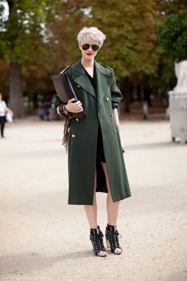 Пальто-шинель и пальто-бушлат: как их носить 3