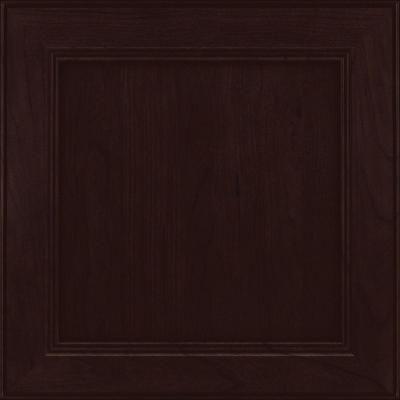 Best Kraftmaid 15X15 In Cabinet Door Sample In Parkdale Cherry 400 x 300