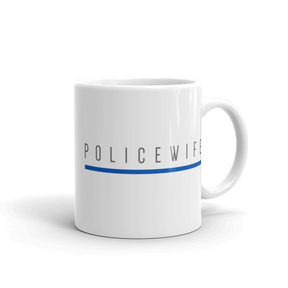 Support the men and women that keep our cities safe! This is a tribute to our local Law Enforcement / First Responders!  This sturdy white, glossy ceramic mug is an essential to your cupboard. This brawny version of ceramic mugs shows its true colors with quality assurance to withstand heat in the microwave and put it through the dishwasher as many times as you like, the quality will not be altered.   • Ceramic • Dishwasher safe • Microwave safe • White, glossy • PROUDLY MADE IN THE USA