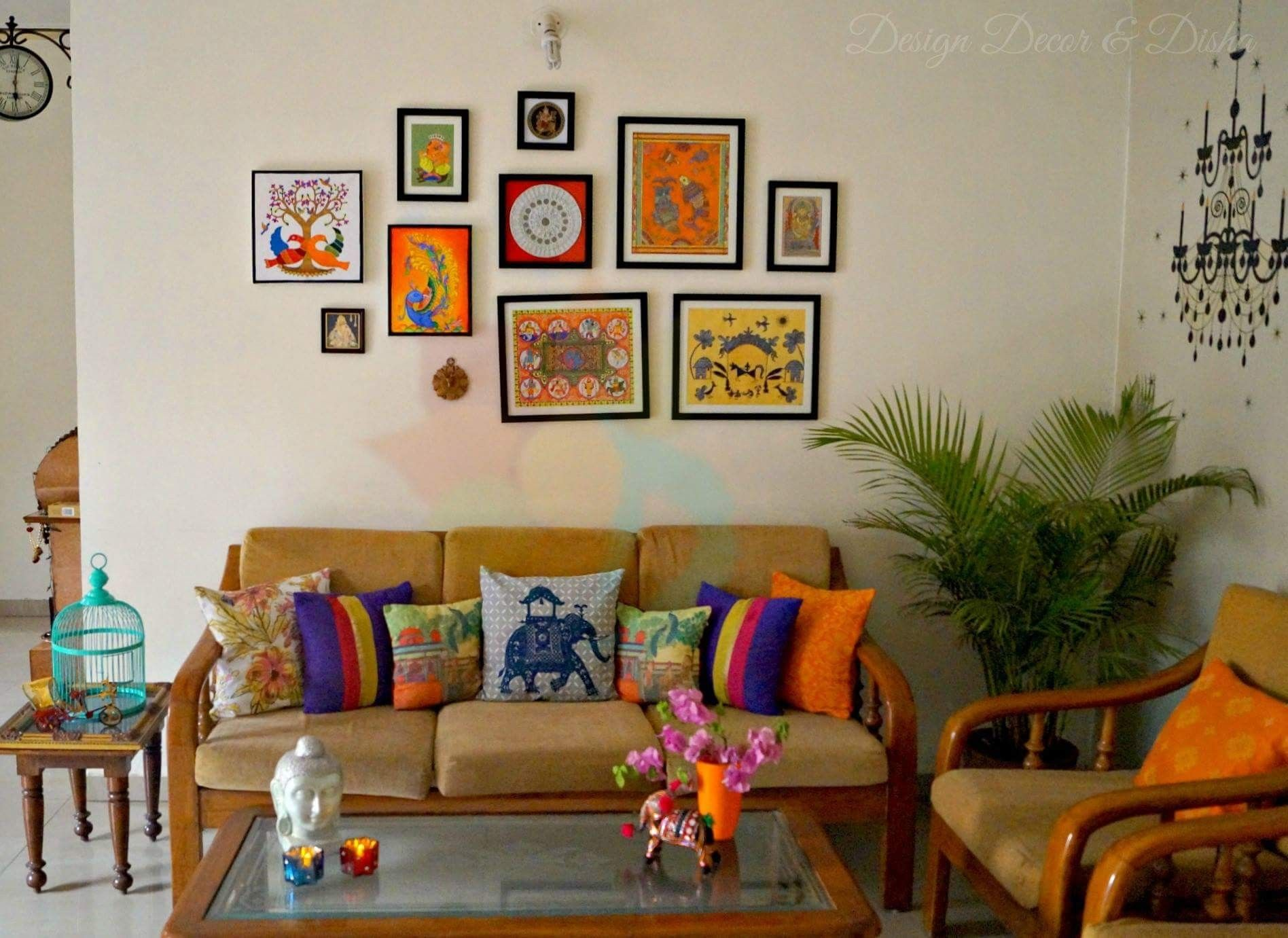 Pin by Pavitra Tandon on ideas  Indian wall decor, Art deco