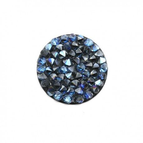 Swarovski Crystal rock moonlight noir, apprêts et matériel pour création de bijoux, site de vente d'accessoires bijoux fantaisie http://calypsobijoux.com/swarovski-element-crystal-rocks-calypso-bijoux-creation/1437-swarovski-crystal-rock-15mm-moonlight-noir-calypsobijoux.html