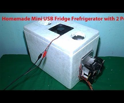 Homemade Air Conditioner With Peltier Cooler Free Energy Thermoelectric DIY  Chiller Fridge