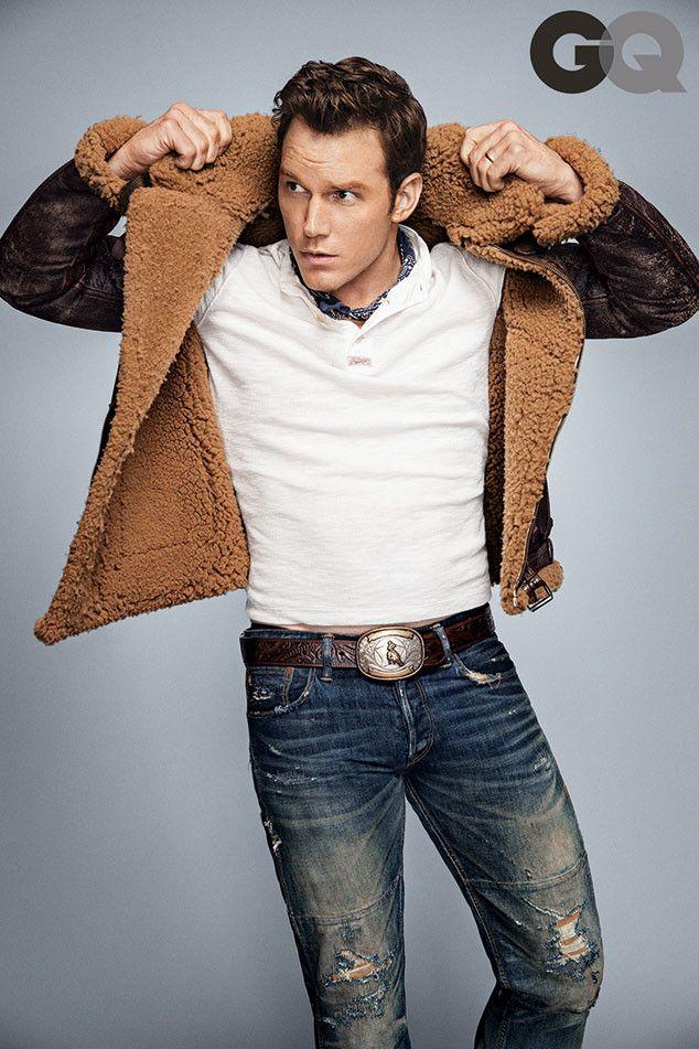 Chris Pratt, Shailene Woodley, Ansel Elgort, Steve Carell and More Cover GQ's Men of the Year Issue | E! Online Mobile
