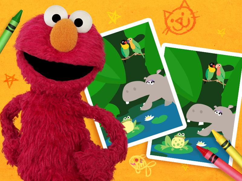 Sesame Street Games Elmo Cookie Monster Abby Cadabby Big Bird Ernie Bert Grover Count Von Count Murra Fun Games For Kids Sesame Street Games For Kids
