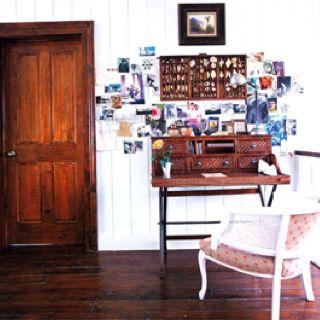 Wooden door..relaxing space Delani.com.au