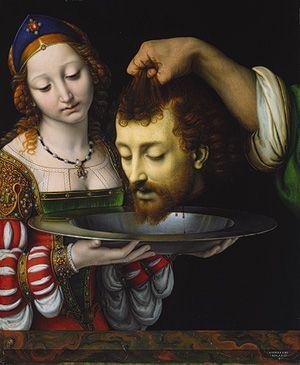Andrea Solario | Salome with the Head of Saint John the Baptist | The Met