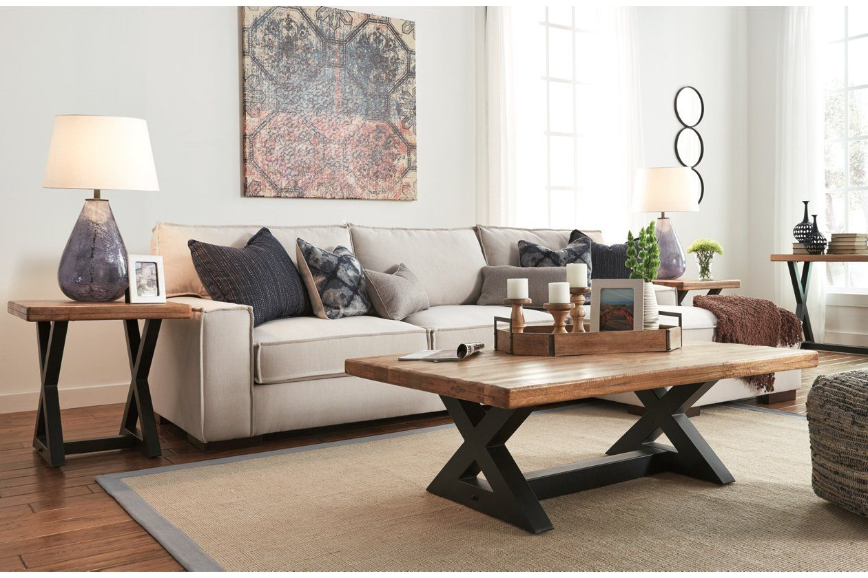 Wesling Coffee Table Coffee Table Furniture Brown Coffee Table