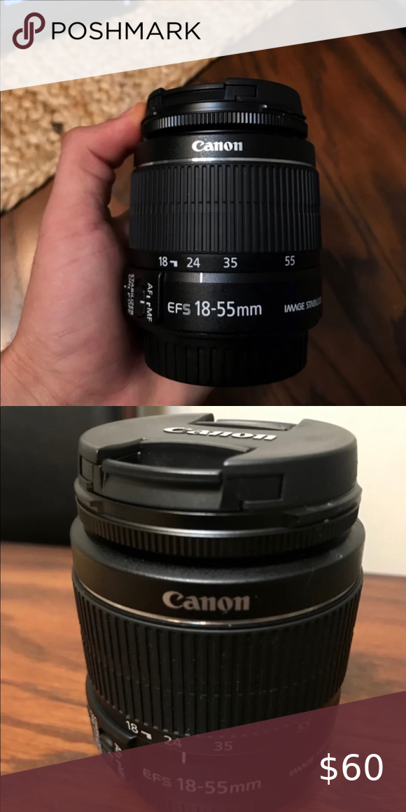 18 55 Mm Canon Lens 18 55 Mm Lens For Canon Eos And Dslr Cameras Canon Other Lens Canon Lens Dslr Camera