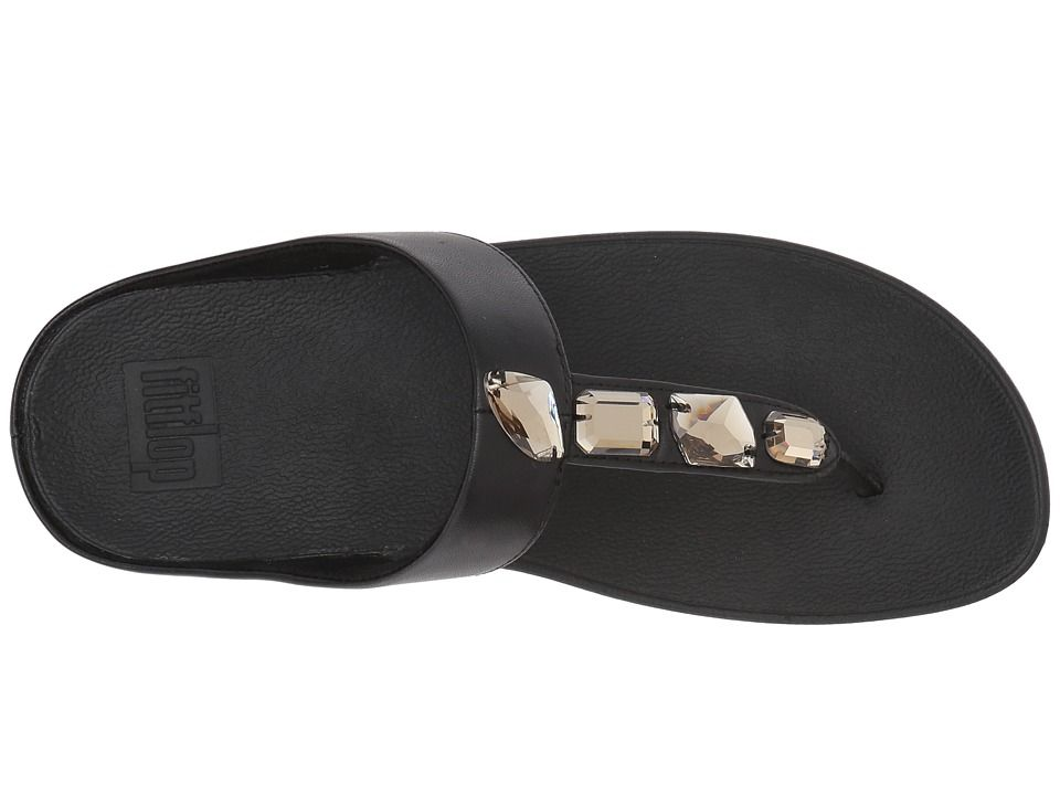 c2929e8ab02f FitFlop Roka Toe Thong Sandals Women s Sandals Black