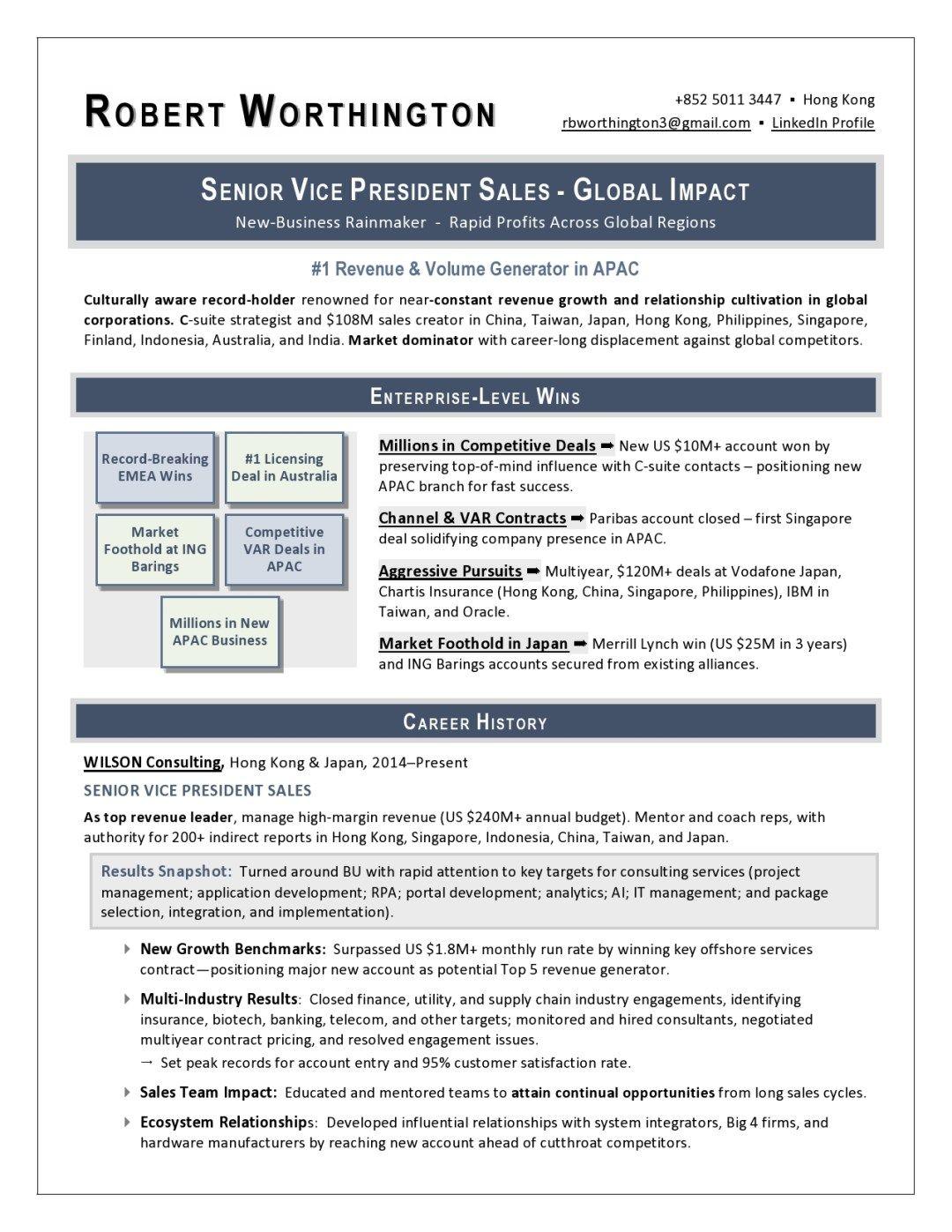 Sample Vp Sales Resume Sales Resume Resume Writing Services Resume Writing