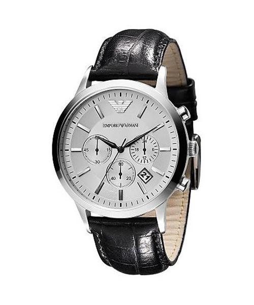 Emporio Armani Ar2432 Herren Chronograph Armani Uhren Armani Manner Armbanduhr