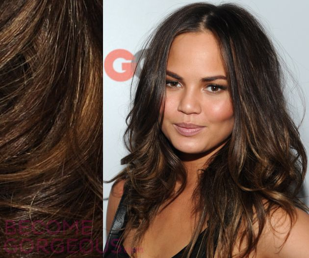 Best Hair Highlights For Olive Skin Tones Haircuts Pinterest