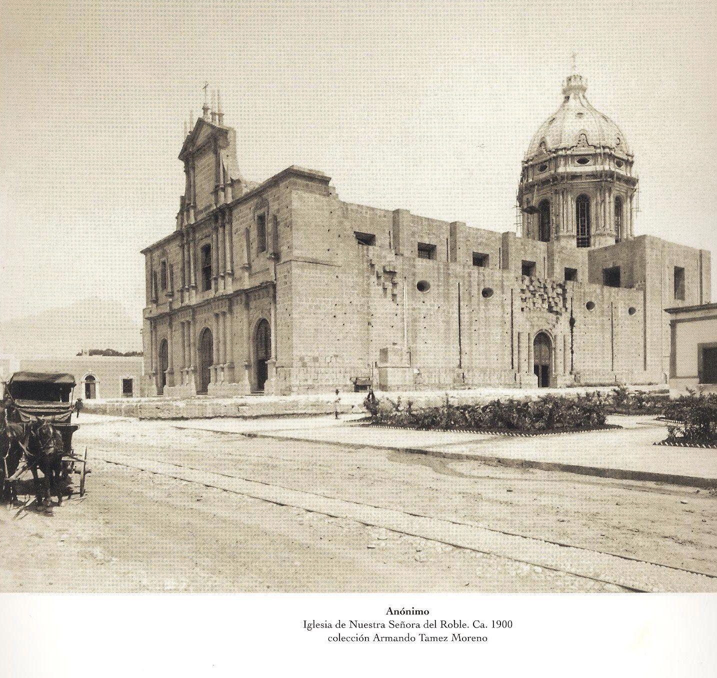 Iglesia del roble 1900 monterrey antiguo pinterest for Sillas para iglesias en monterrey