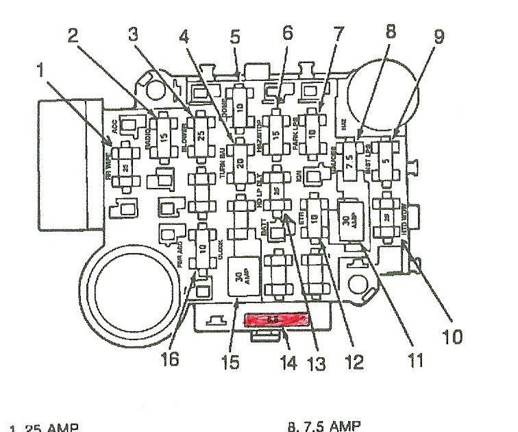 Jeep Wrangler Tj Fuse Box Diagram : 2004 Jeep Wrangler