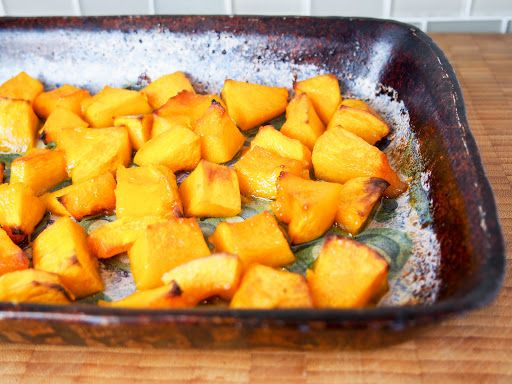 Maple Roasted Buttercup Squash Recipe Buttercup Squash Food Recipes Cooking