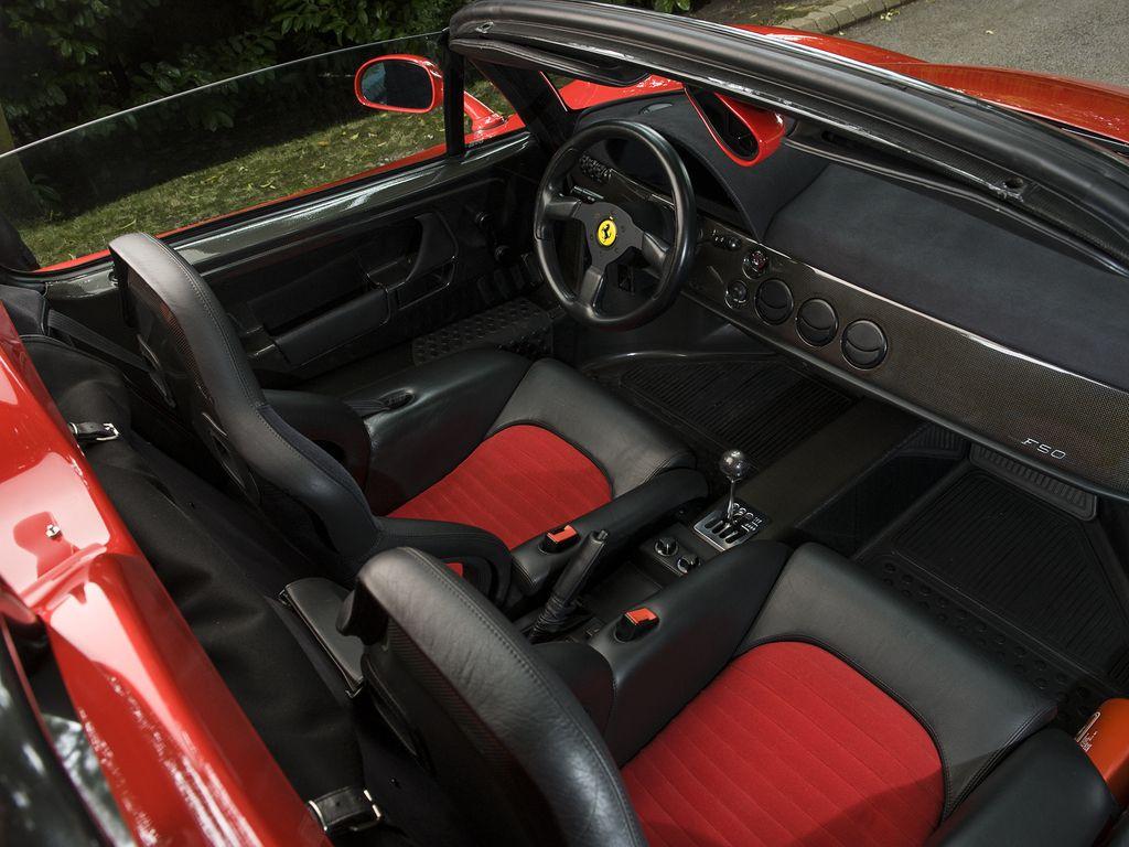 1996 ferrari f50 rosso corsa with black red interior f50 1996 ferrari f50 rosso corsa with black red interior vanachro Choice Image