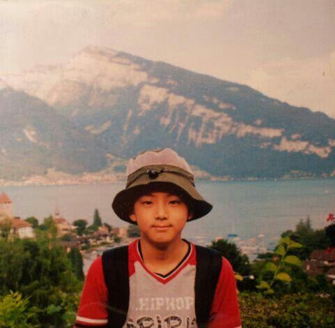 Kim Seokjin Child Foto Masa Kecil Bts Gambar