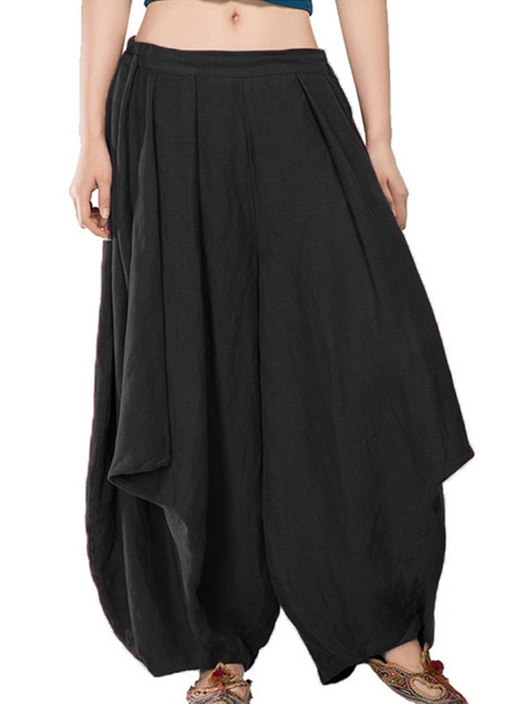 c3f14e2c881b7 Casual Elastic Waist Loose Harem Pants For Women in 2019 | Products ...