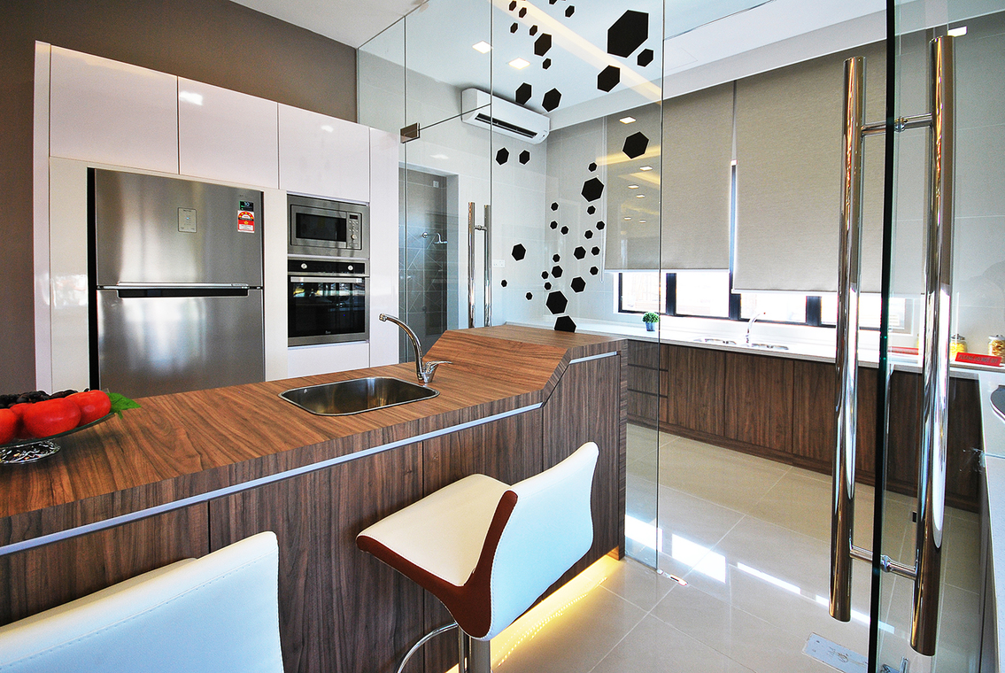 14 practical wet and dry kitchens in malaysia  recommend