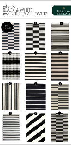 Black And White Striped Wool Carpet Carpet Vidalondon Striped Rug Black Decor Black Rug Black and white striped carpet
