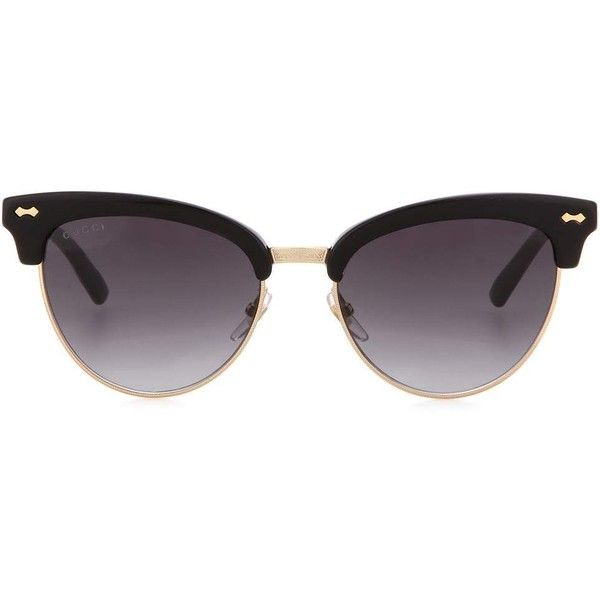 890e1859ec4 Gucci Cat-Eye Sunglasses ( 450) ❤ liked on Polyvore featuring accessories