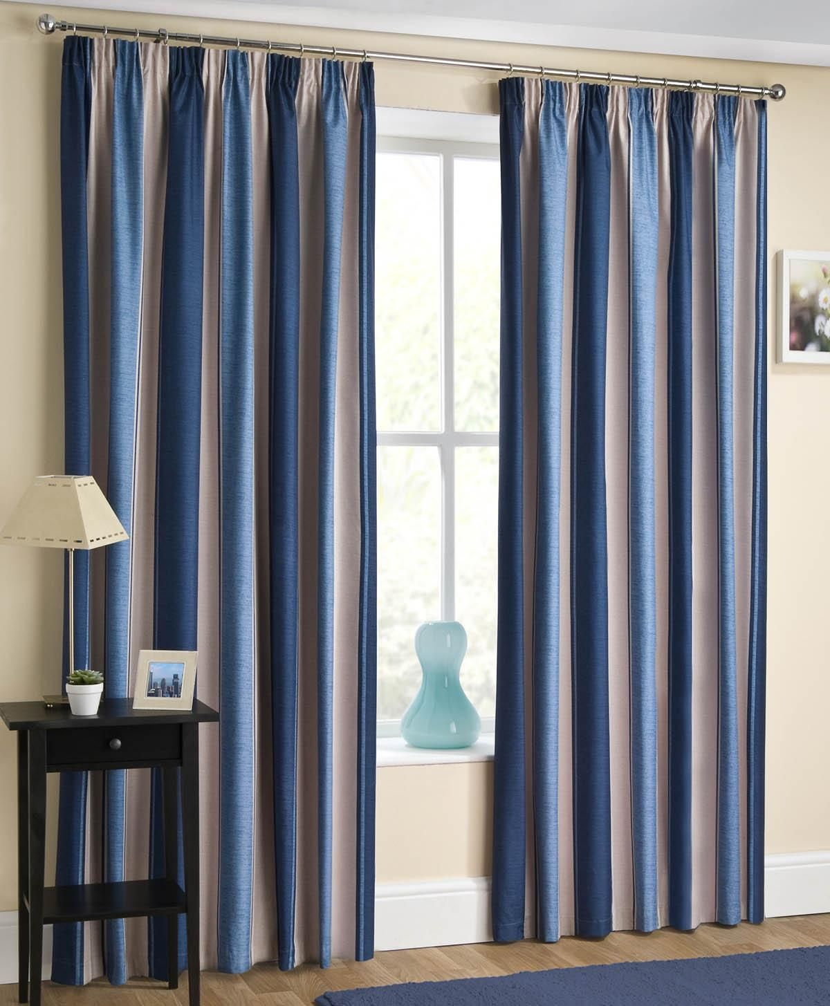 grommet curtains amazon thermal dp solid top blue nicetown blackout com all navy curtain insulated draperies season