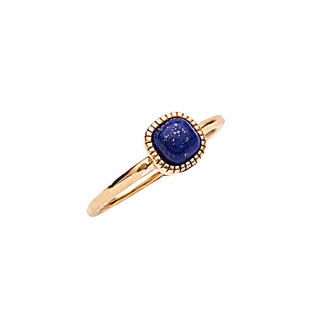 Silver and Lapis Lazuli Ring for women LUISA