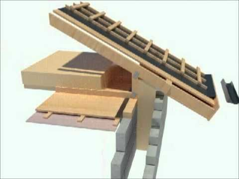 Passive House Design Roof Detail 3d Youtube Passive