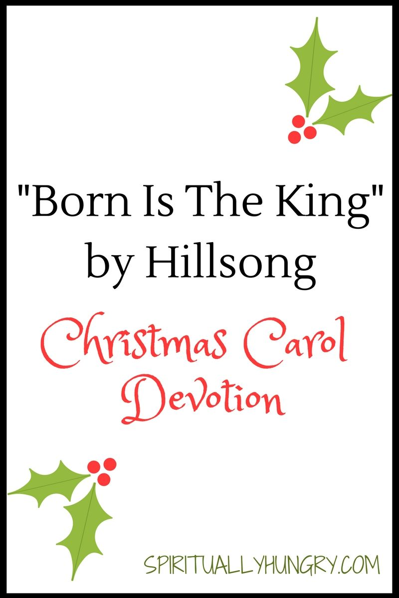 Born Is The King It\'s Christmas\