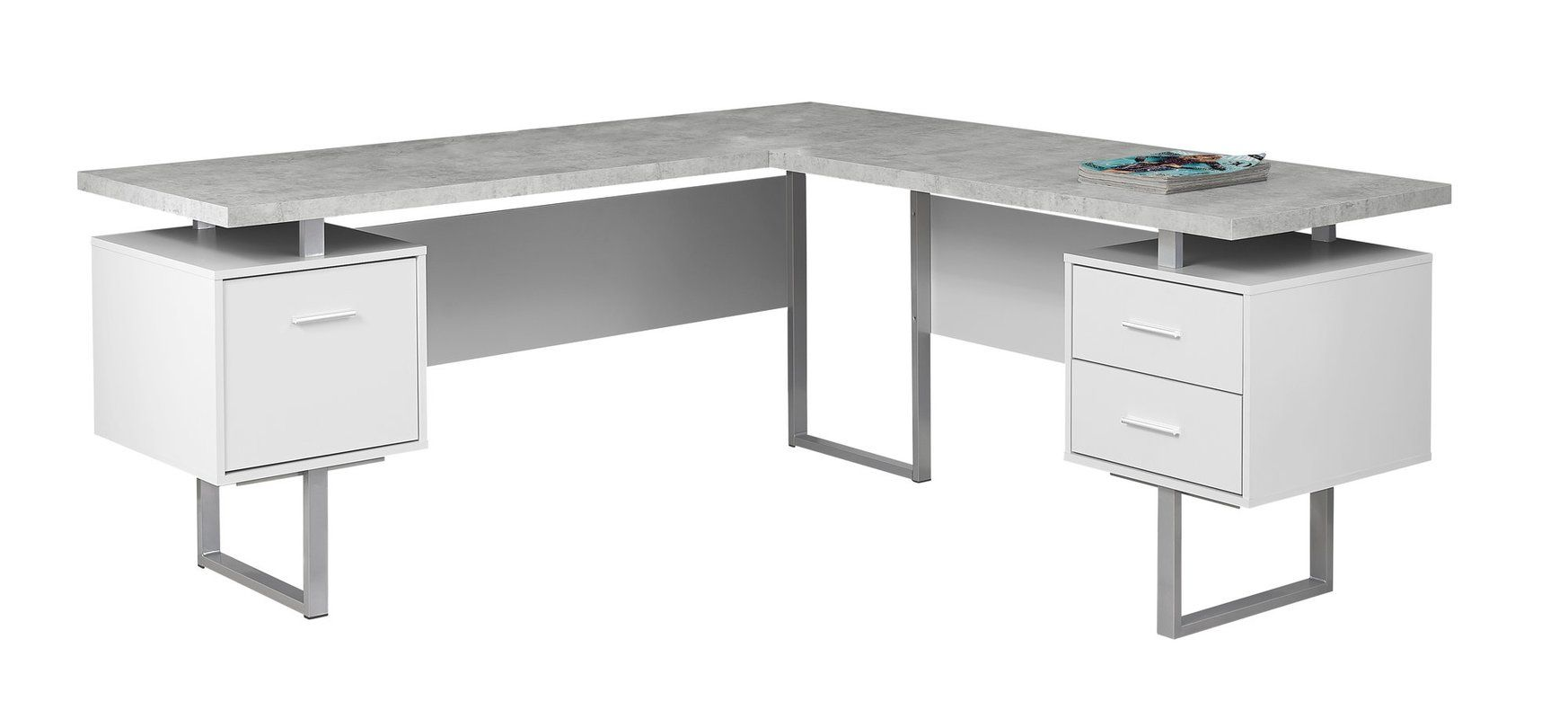 Darroll L Shape Corner Desk L Shaped Corner Desk Office Desk Desk