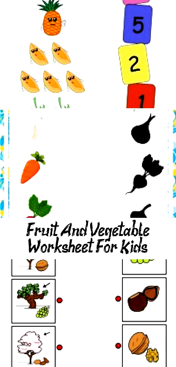 Fruit And Vegetable Worksheet For Kids Crafts And Worksheets For Preschool Toddler And Kindergarte In 2020 Crafts For Kids Garden Crafts For Kids Worksheets For Kids [ 1560 x 750 Pixel ]
