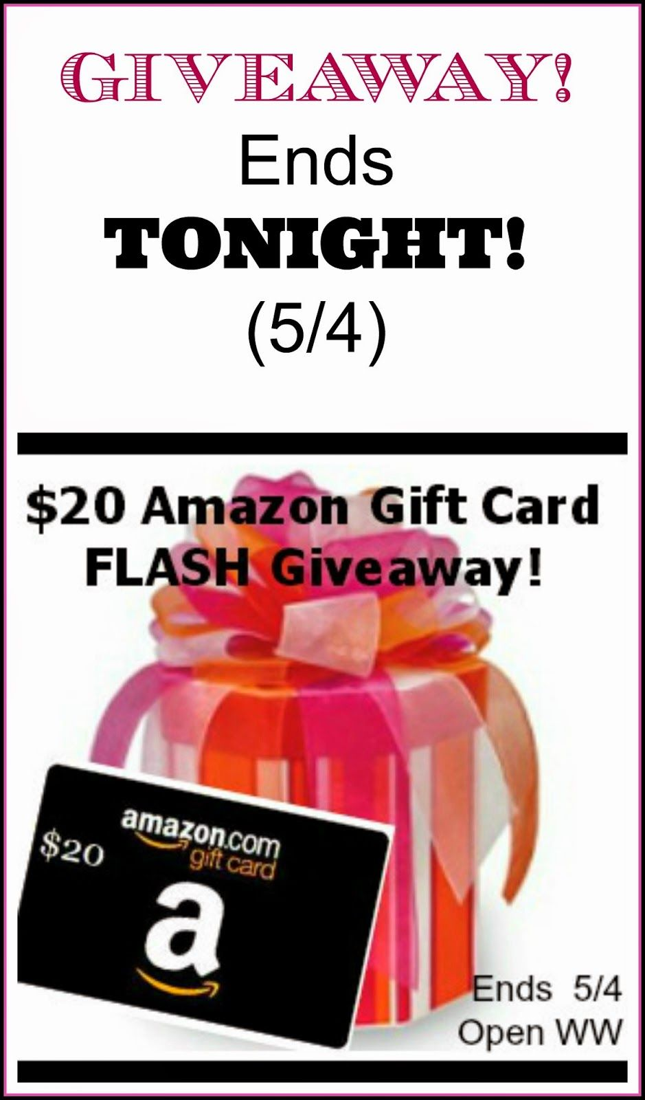 Style, Decor & More: $20 Amazon Gift Card FLASH Giveaway {Ends 5/4} *********** ENTER AT STYLEDECOR HERE: http://www.styledecordeals.com/2014/05/20-amazon-gift-card-flash-giveaway-ends.html
