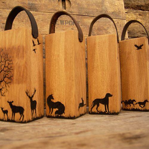 Wooden Farm House Door Stops