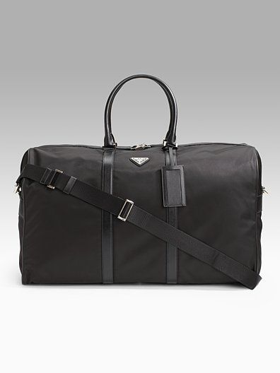 8befa36c1fc633 Prada Mens Nylon Duffle Bag 1 | Work | Bags, Prada bag, Prada men