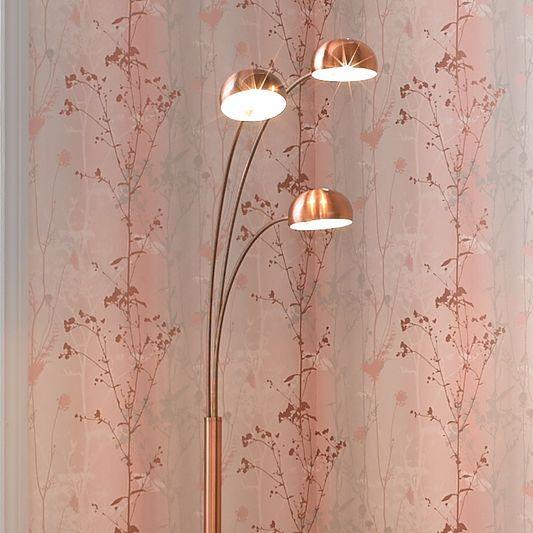 Copper Multi Light Floor Lamp Graham Amp Brown Uk