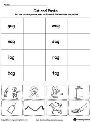ad word family worksheets for kindergarten kindergarten word families worksheets free. Black Bedroom Furniture Sets. Home Design Ideas