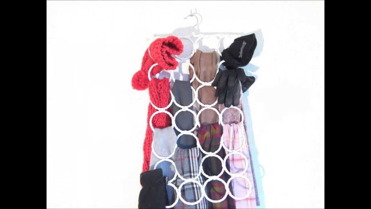How to Organize Ties and Scarves in a Fun Way