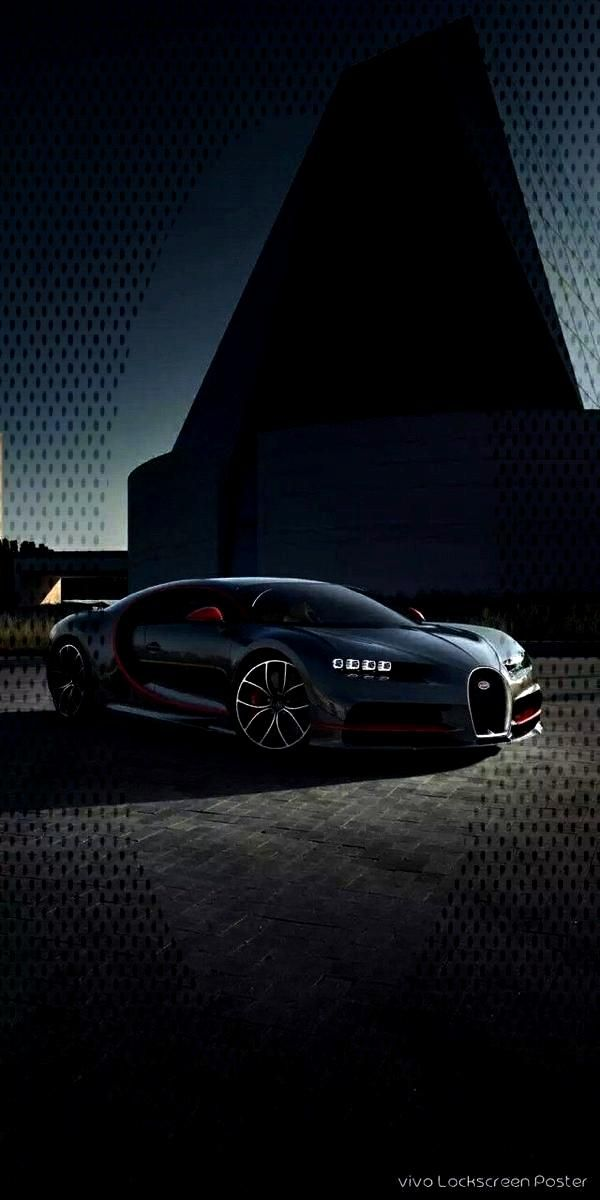 Red Bugatti Chiron Modern Luxury Dark Wallpaper Perfect wallpaper for your iPhone if you're looki