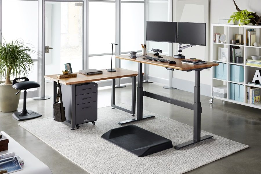 Top 8 Benefits Of A Standing Desk Man Of Many Standing Desk Office Standing Desk Design Home Office Design