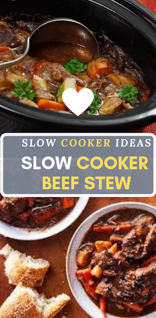 Slow Cooker Beef Stew Easy Recipes Recipe Slow Cooker Beef Stew Slow Cooker Beef Slow Cooker Recipes