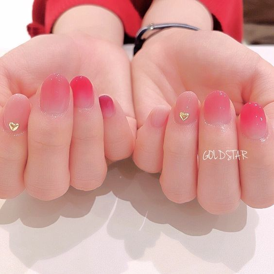 Fingernail #koreannailart