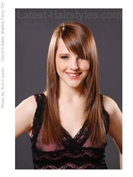 Summer Long Hair With Bangs Imagine This Style Blonde Or Reddish And On Me Go No