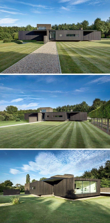 Auskragendes Bauteil schwebendes-haus-großer-garten | Architektur ...