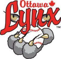 Oh Canada Ottawa Lynx Baseball Teams Logo Logos Sports Logo