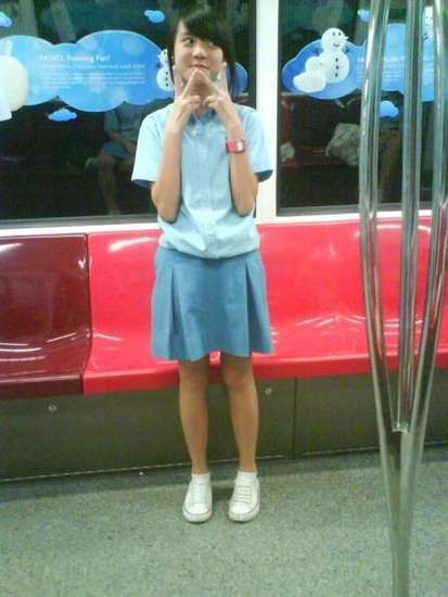 naked singaporean secondary school girl