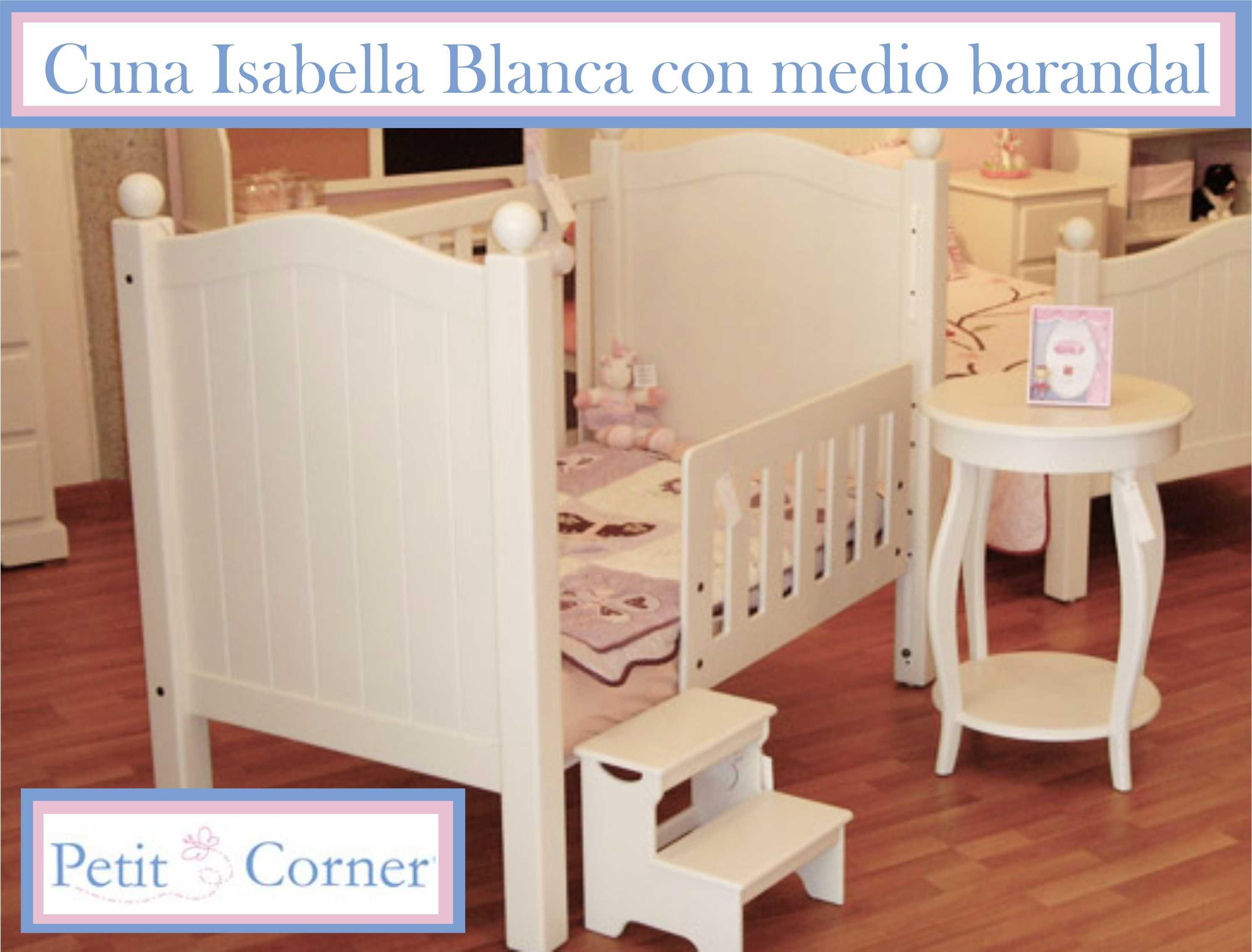 Cuna Isabella Medio barandal | bebe | Pinterest | Barandales ...