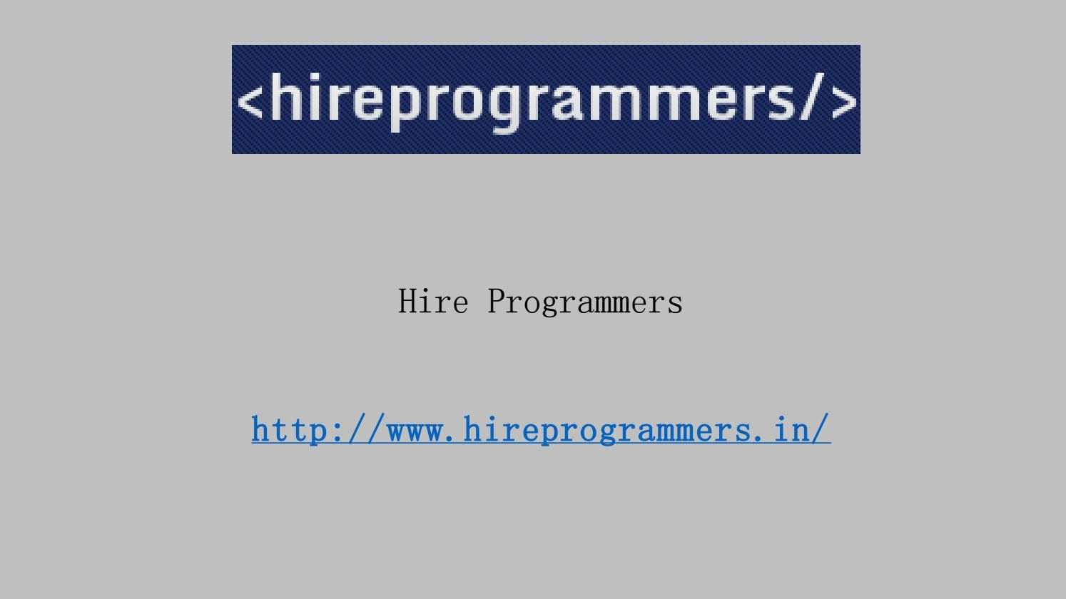 Sectors that should hire programmers in chennai